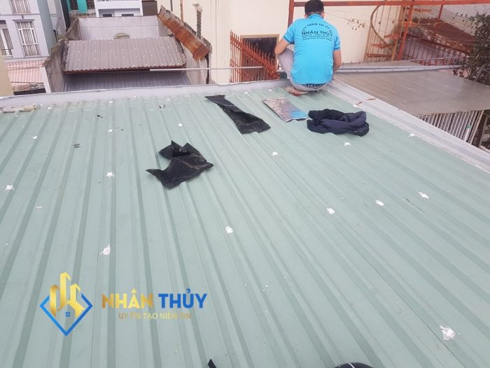 thợ chống dột mái tôn tại huyện bình chánh