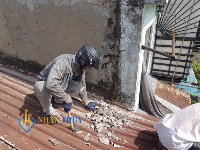 chống dột mái tôn quận tân phú