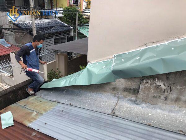 chống dột mái tôn tại bình dương