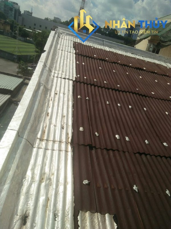 chống dột mái tôn tại quận 6