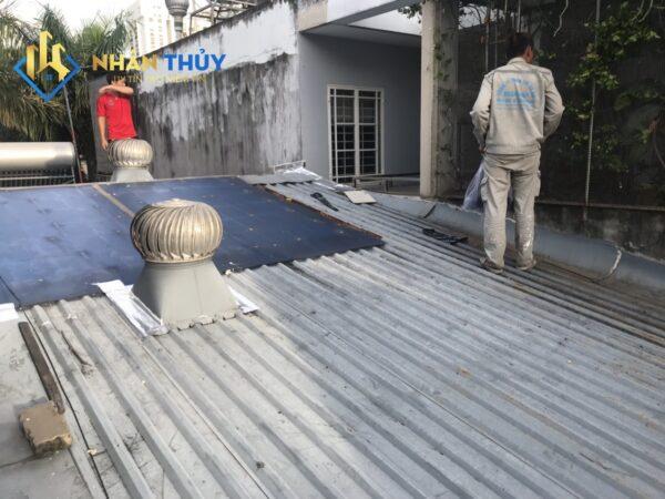 dịch vụ chống dột mái tôn quận 4