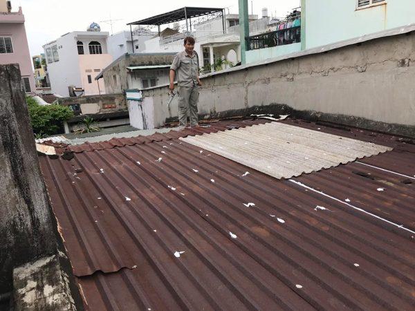 dịch vụ chống dột mái tôn quận 5