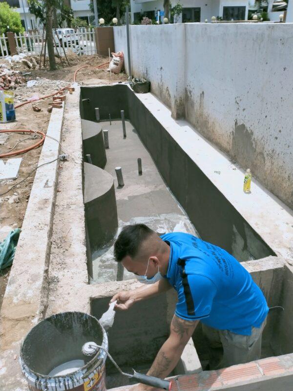 chống thấm bể cá tphcm