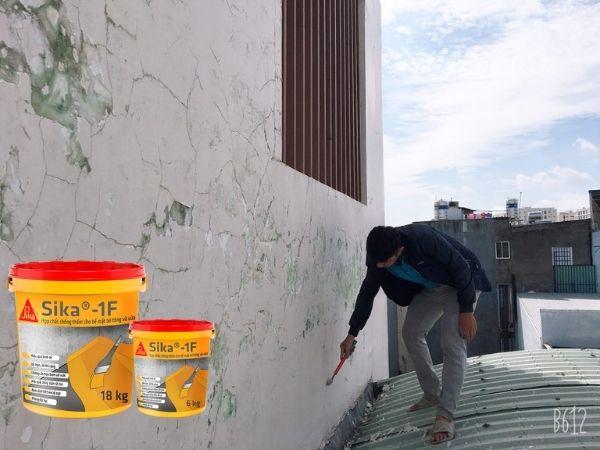 chống thấm tường nhà mới
