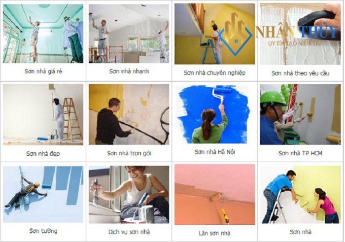 dịch vụ sơn nhà đẹp tại đồng nai