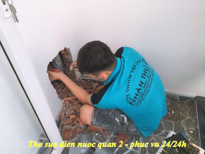 dịch vụ chống thấm nhà tại quận 12
