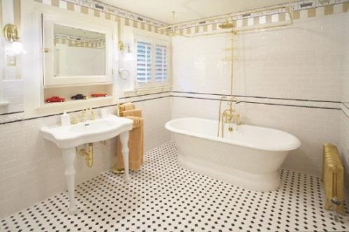 vật liệu ốp tường nhà tắm