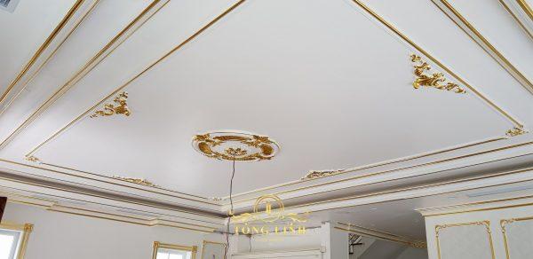 sơn chỉ trần nhà