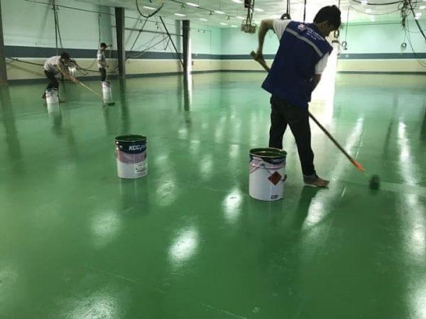 sơn chống thấm nền nhà epoxy