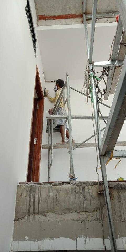 cải tạo sơn lại nhà quận 5