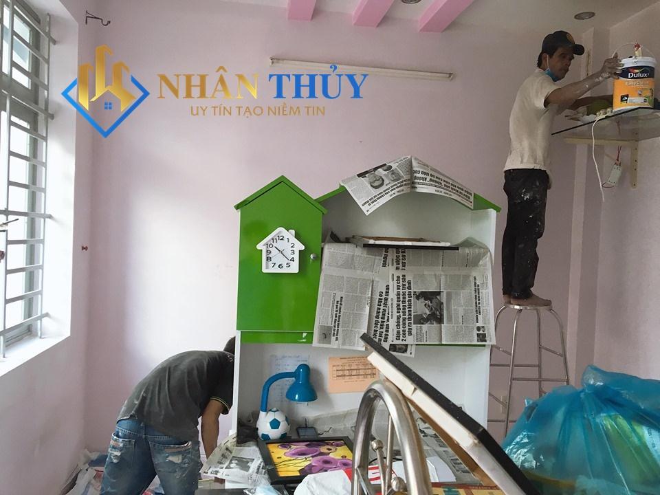 sơn nhà tphcm