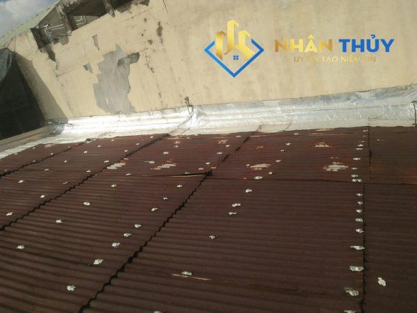 sửa mái tôn dột nước quận 5