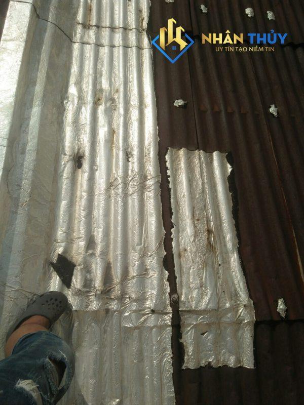 thợ chống dột mái tôn quận 4