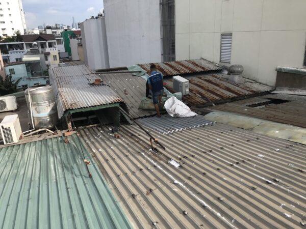 thợ chống dột mái tôn quận 8