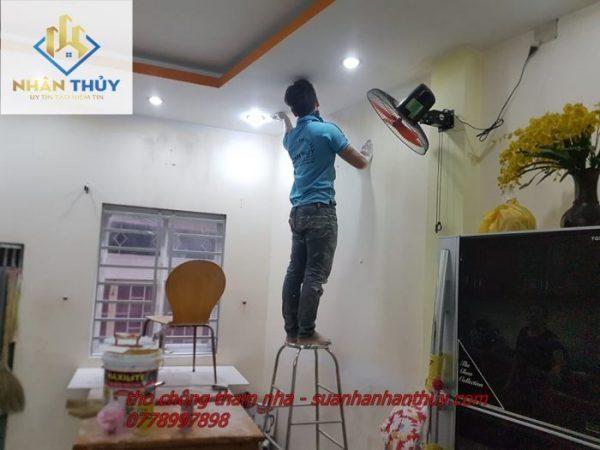 Thơ sơn nhà trọn gói giá rẻ tại quận 2