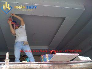 thợ đóng trần thạch cao chìm tại TPHCM
