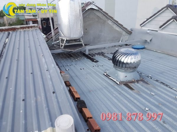 thợ chống dột mái tôn tại bình dương