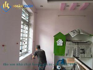 thợ sơn nhà chất lượng trọn gói tại quận 1