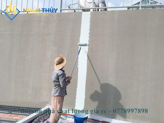chống thấm tường bằng sika
