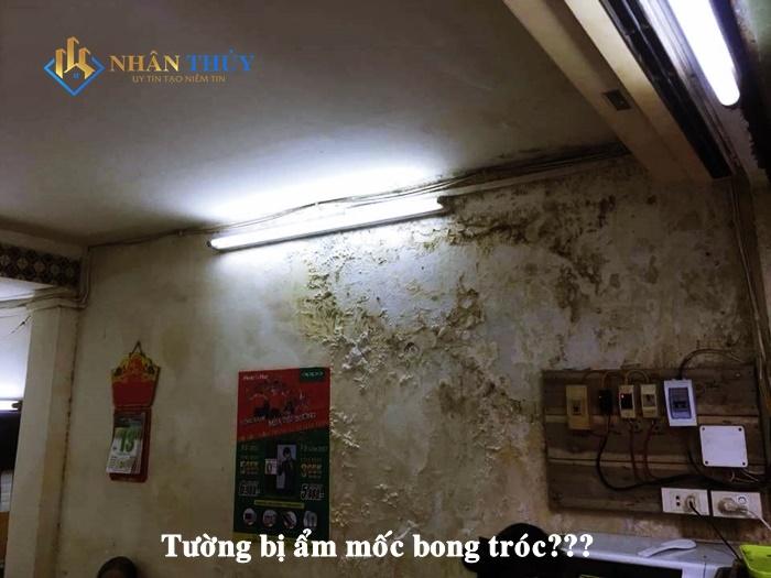 chống thấm tường nhà trọn gói tại tphcm