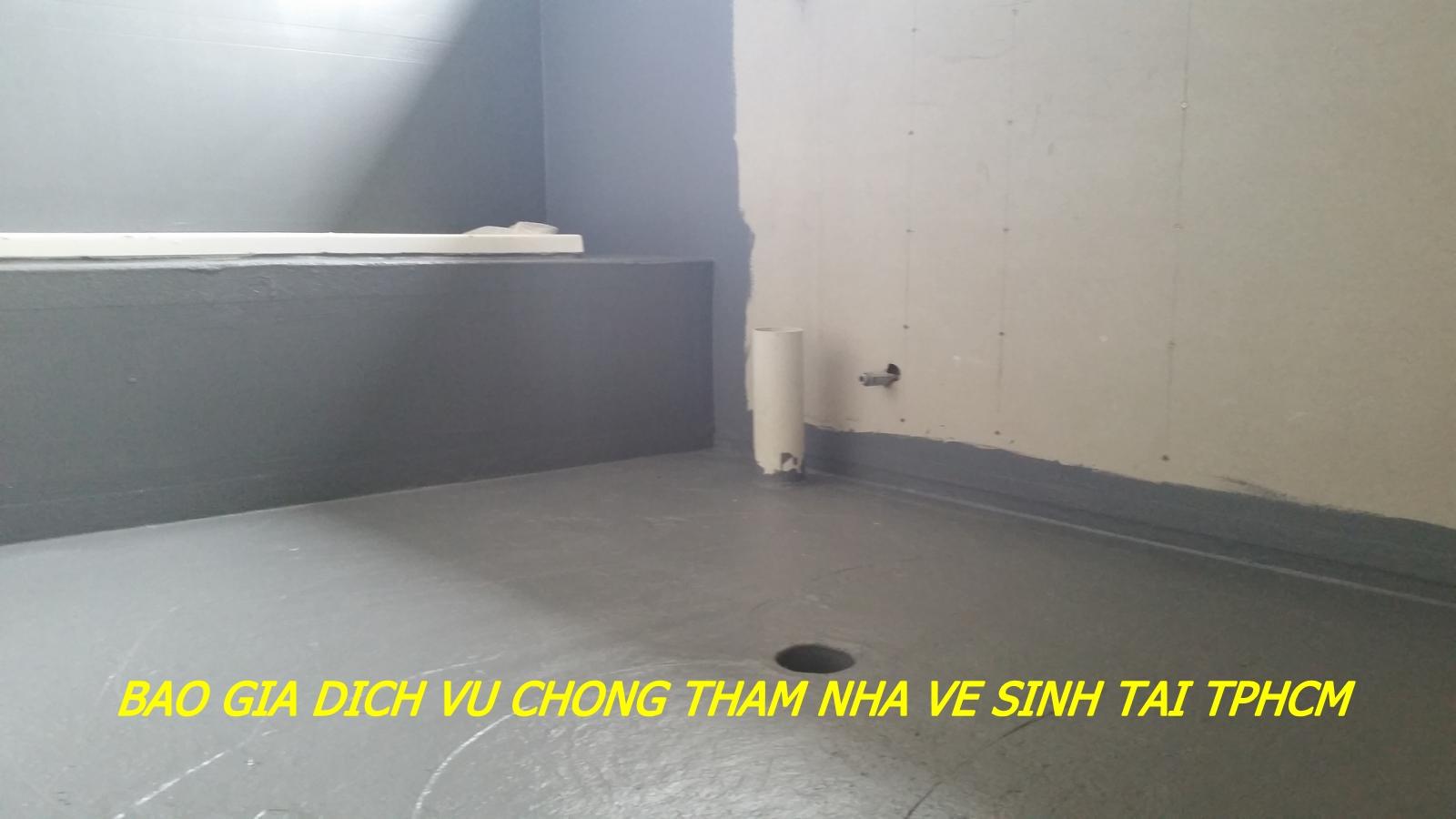 báo giá dịch vụ chống thấm nhà vệ sinh tại tphcm