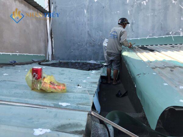 chống dột mái tôn huyện bình chánh