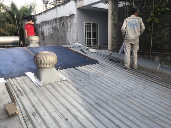 dịch vụ chống dột mái tôn tân bình