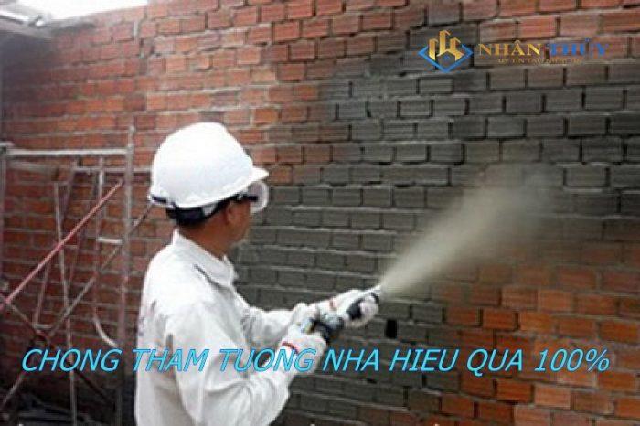 dịch vụ chống thấm tường nhà tại quận 6