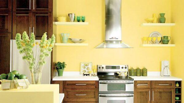 sơn nhà bếp phong thủy
