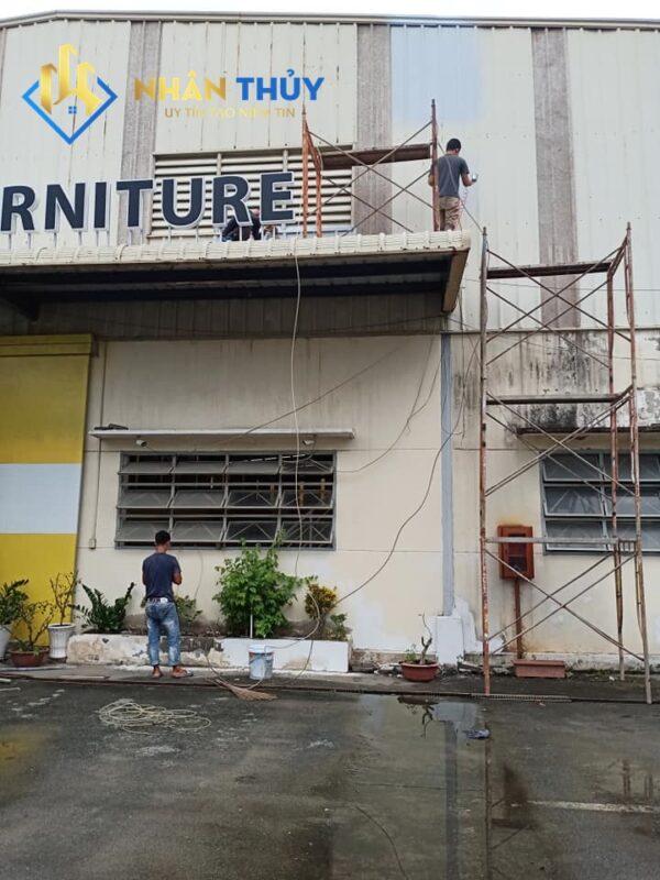sơn nhà tại quận 12