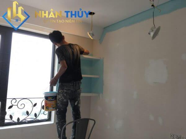 sơn phòng ngủ bình thạnh