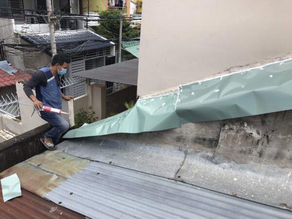 thợ chống dột mái tôn bình thạnh