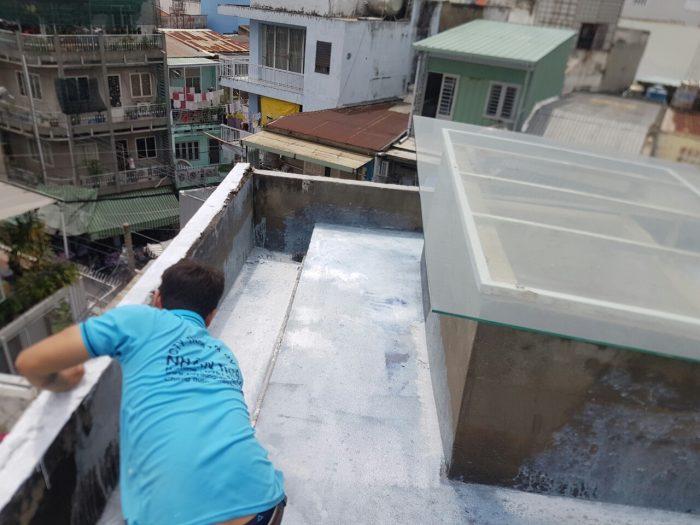 thợ chống thấm tường tại quận 4