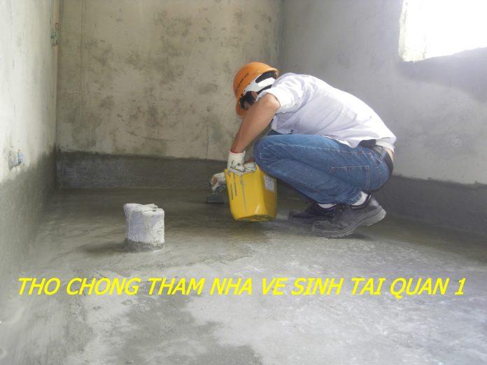 thợ chống thấm nhà vệ sinh tại quận 1