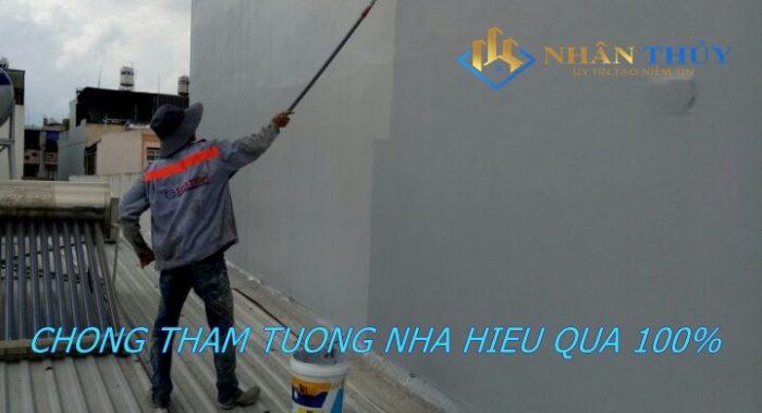 báo giá thi công chống thấm tường