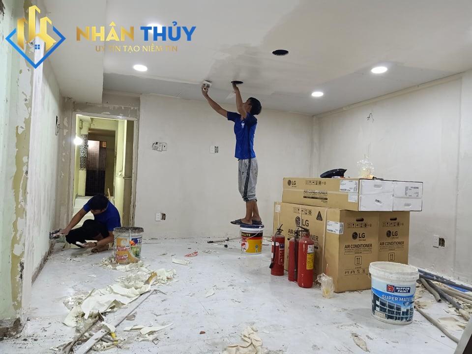 thợ sơn nhà chất lượng tại quận 11