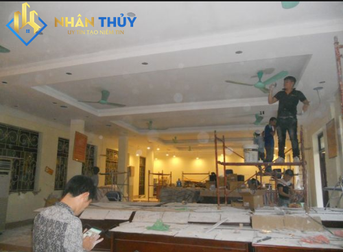 dịch vụ sơn nhà đẹp tại quận tân bình