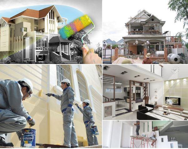 dịch vụ sơn nhà trọn gói tại huyện bình chánh