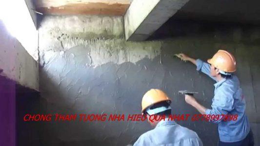 dịch vụ chống thấm tường nhà tại quận 7