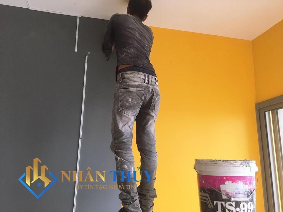 dịch vụ sơn nhà giá rẻ quận tân phú
