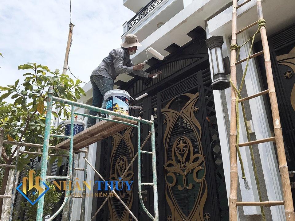 dịch vụ sơn nhà quận phú nhuận