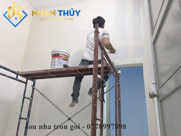 cách tính sơn tường