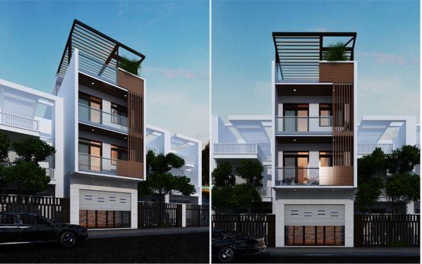 thiết kế cải tạo nhà phố