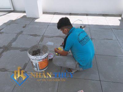 sơn nhà tại nhà bè