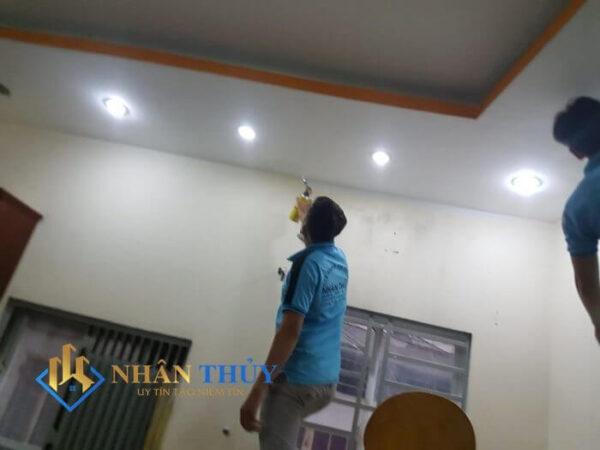 dịch vụ sơn nhà tân phú