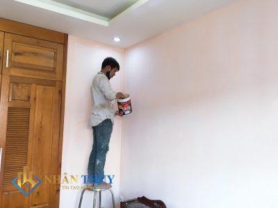 thợ sơn nhà huyện bình chánh