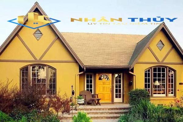 sơn nhà màu mỡ gà