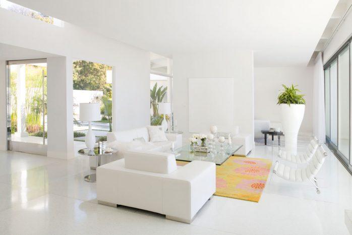 sơn nhà màu trắng xứ