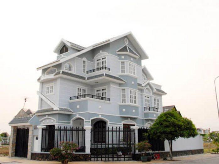 sơn nhà màu xám