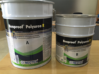 chất chống thấm sàn mái neoproof-polyurea